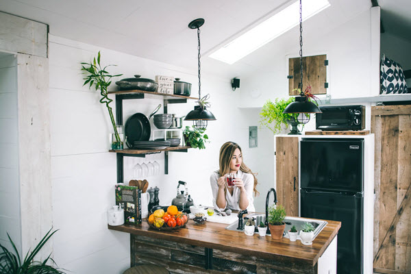 how to make an apartment homey nature