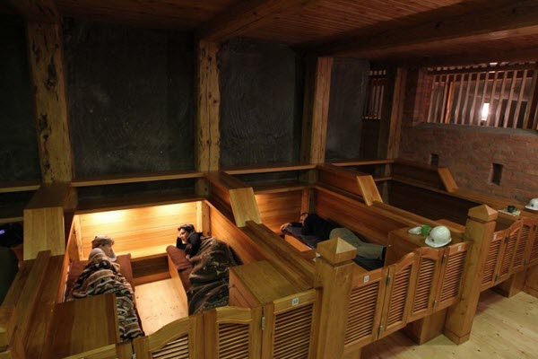 Wieliczka underground lodgings