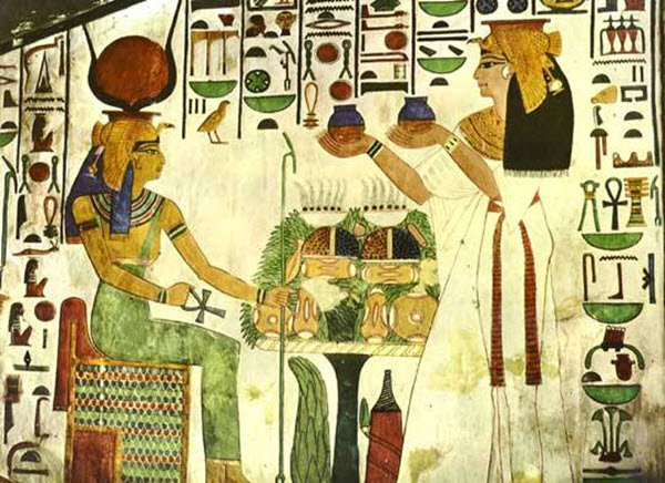 history of cupping egyptians